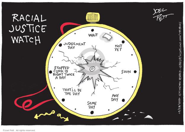 Joel Pett  Joel Pett's Editorial Cartoons 2020-10-28 discrimination