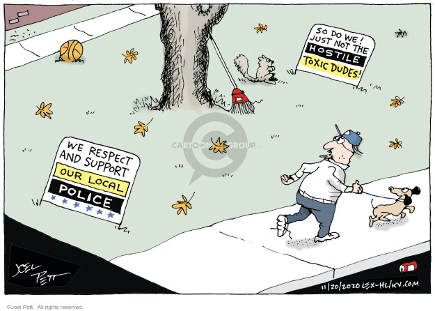 Joel Pett  Joel Pett's Editorial Cartoons 2020-11-20 Black Lives Matter