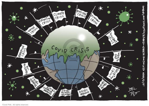 Joel Pett  Joel Pett's Editorial Cartoons 2020-12-13 coronavirus