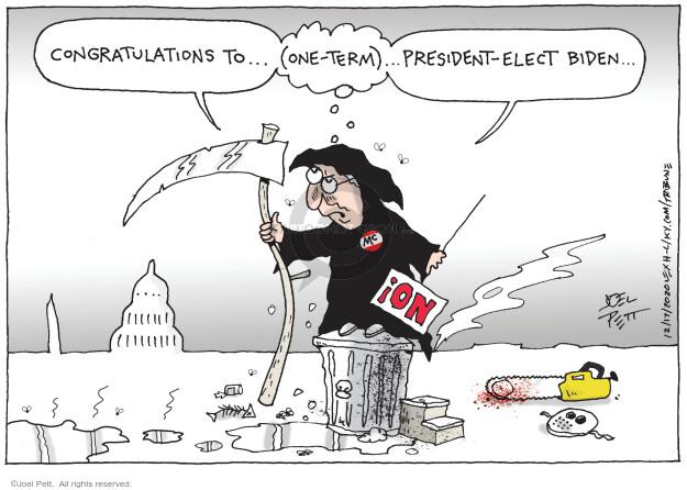 Joel Pett  Joel Pett's Editorial Cartoons 2020-12-17 editorial