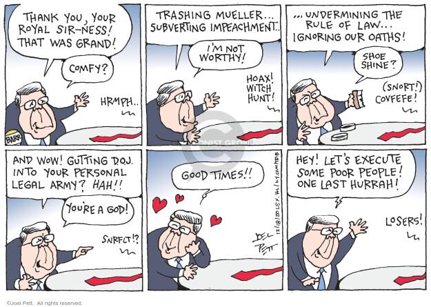Joel Pett  Joel Pett's Editorial Cartoons 2020-12-18 Donald Trump