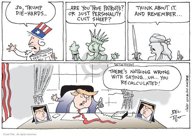 Joel Pett  Joel Pett's Editorial Cartoons 2021-01-06 editorial