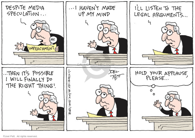 Joel Pett  Joel Pett's Editorial Cartoons 2021-01-17 political media