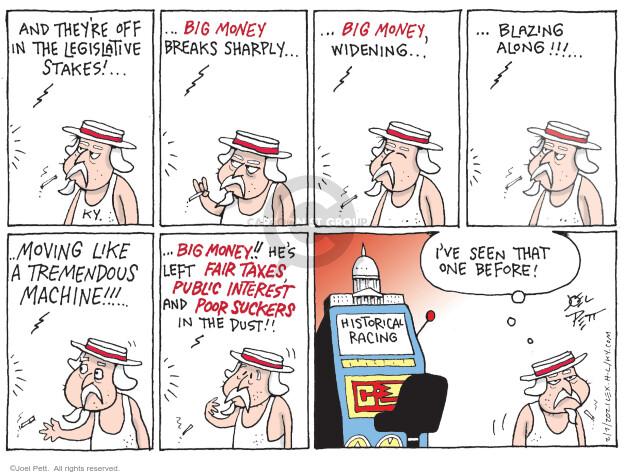 Joel Pett  Joel Pett's Editorial Cartoons 2021-02-07 budget