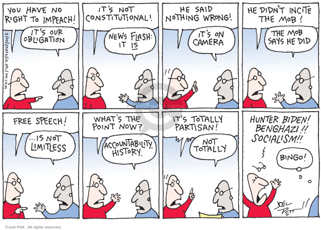 Joel Pett  Joel Pett's Editorial Cartoons 2021-02-10 political media