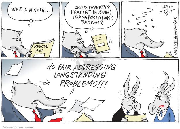 Joel Pett  Joel Pett's Editorial Cartoons 2021-03-16 plan
