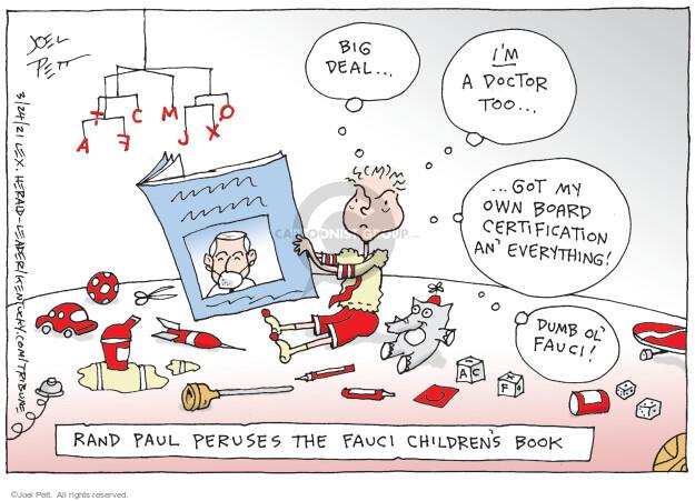 Joel Pett  Joel Pett's Editorial Cartoons 2021-03-24 coronavirus