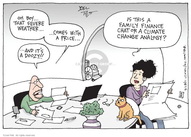 Joel Pett  Joel Pett's Editorial Cartoons 2021-03-28 climate change