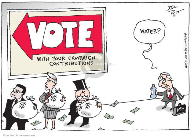 Joel Pett  Joel Pett's Editorial Cartoons 2021-04-09 water