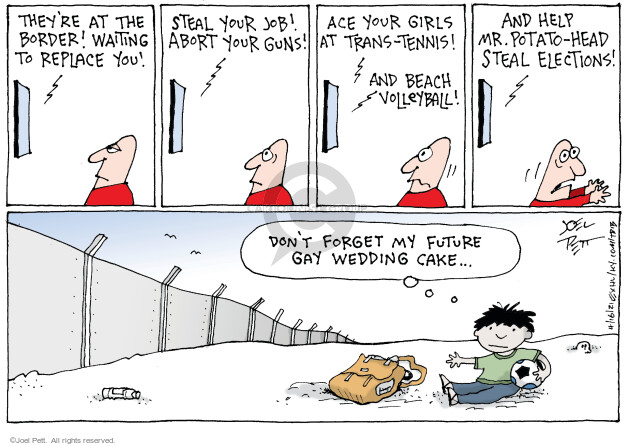 Joel Pett  Joel Pett's Editorial Cartoons 2021-04-16 political media