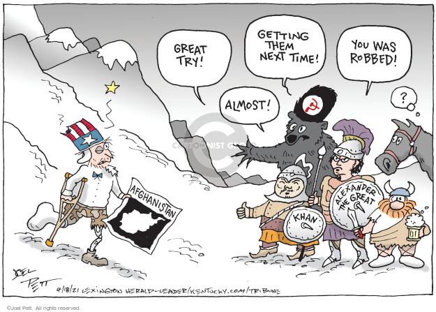 Joel Pett  Joel Pett's Editorial Cartoons 2021-04-18 editorial
