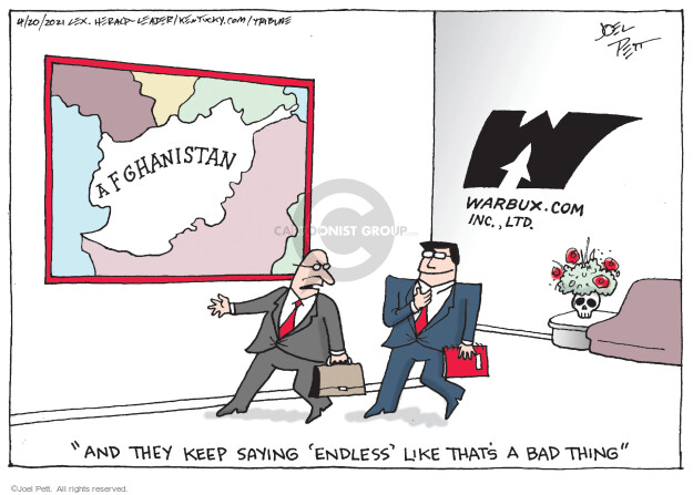 Joel Pett  Joel Pett's Editorial Cartoons 2021-04-20 editorial