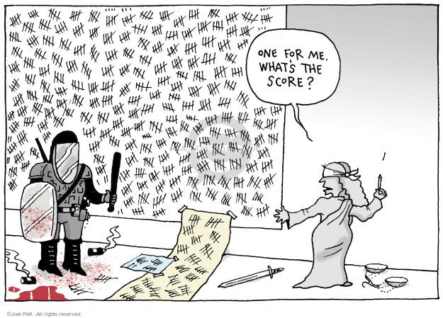 Joel Pett  Joel Pett's Editorial Cartoons 2021-04-22 Derek Chauvin