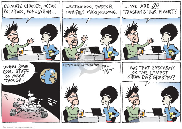 Joel Pett  Joel Pett's Editorial Cartoons 2021-04-23 pollution