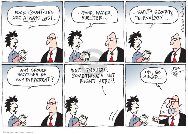 Joel Pett  Joel Pett's Editorial Cartoons 2021-05-09 public safety