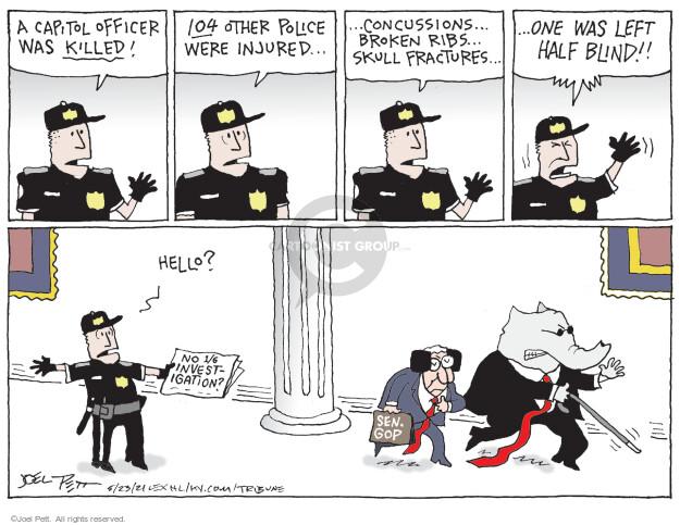 Joel Pett  Joel Pett's Editorial Cartoons 2021-05-23 enforcement