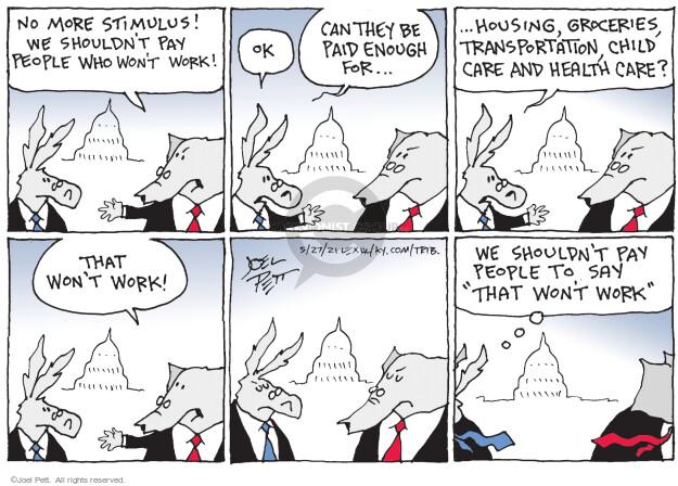 Joel Pett  Joel Pett's Editorial Cartoons 2021-05-27 politics