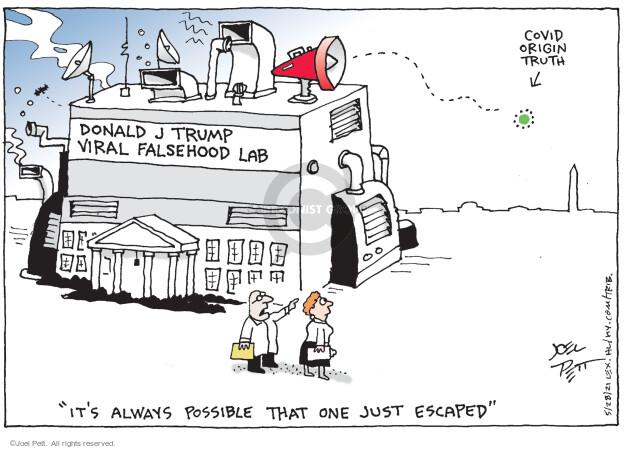 Joel Pett  Joel Pett's Editorial Cartoons 2021-05-28 coronavirus