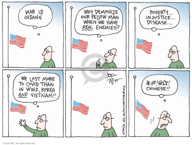 Joel Pett  Joel Pett's Editorial Cartoons 2021-05-30 coronavirus