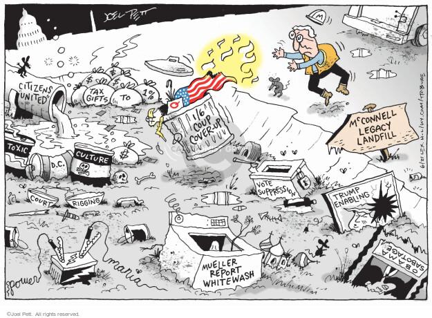 Joel Pett  Joel Pett's Editorial Cartoons 2021-06-05 politics