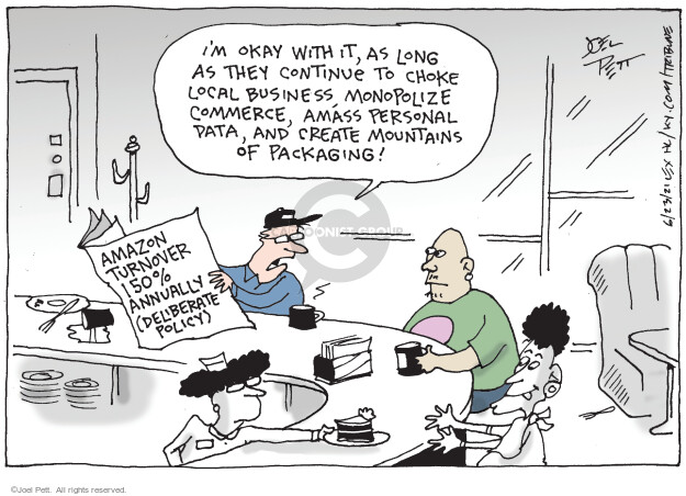 Joel Pett  Joel Pett's Editorial Cartoons 2021-06-23 commerce