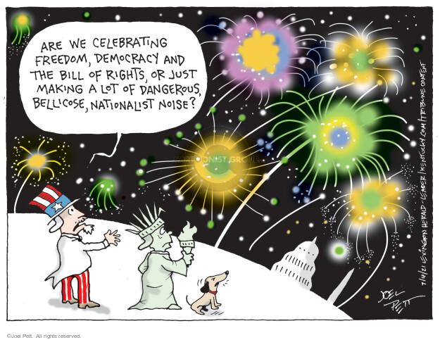 Joel Pett  Joel Pett's Editorial Cartoons 2021-07-04 democracy