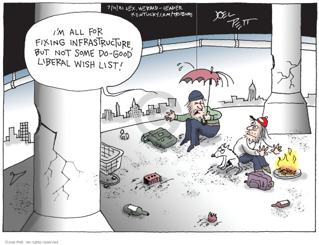 Joel Pett  Joel Pett's Editorial Cartoons 2021-07-11 plan