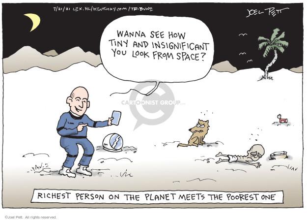 Joel Pett  Joel Pett's Editorial Cartoons 2021-07-21 you