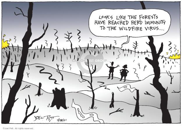 Joel Pett  Joel Pett's Editorial Cartoons 2021-07-28 virus