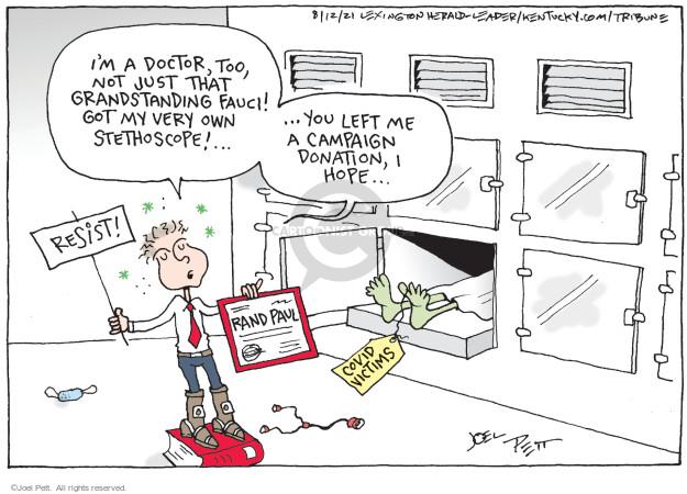 Joel Pett  Joel Pett's Editorial Cartoons 2021-08-12 coronavirus