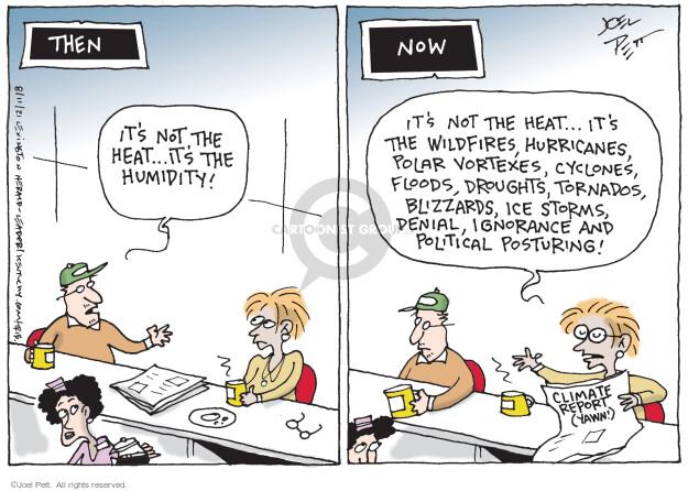 Joel Pett  Joel Pett's Editorial Cartoons 2021-08-11 climate change