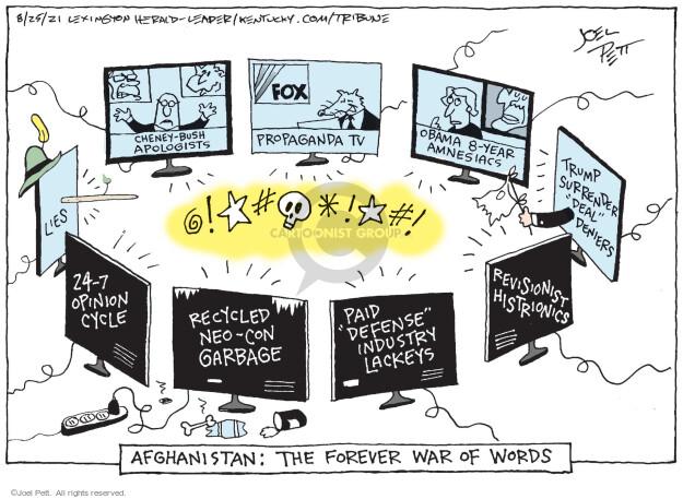 Joel Pett  Joel Pett's Editorial Cartoons 2021-08-25 recycle
