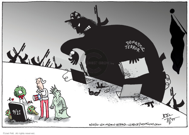 Joel Pett  Joel Pett's Editorial Cartoons 2021-09-12 2001