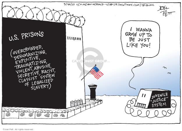 Joel Pett  Joel Pett's Editorial Cartoons 2021-09-30 you
