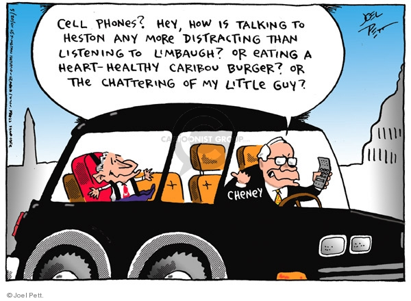 Joel Pett  Joel Pett's Editorial Cartoons 2001-05-20 distraction