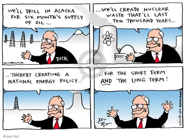 Cartoonist Joel Pett  Joel Pett's Editorial Cartoons 2001-05-27 refuge