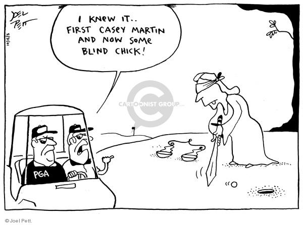 Cartoonist Joel Pett  Joel Pett's Editorial Cartoons 2001-05-31 Lady Justice