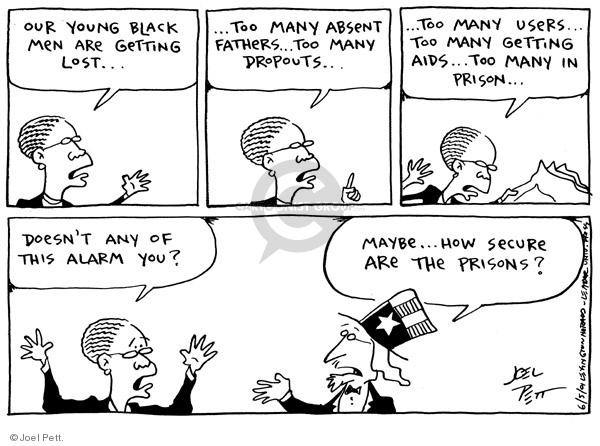 Joel Pett  Joel Pett's Editorial Cartoons 2001-06-05 racism