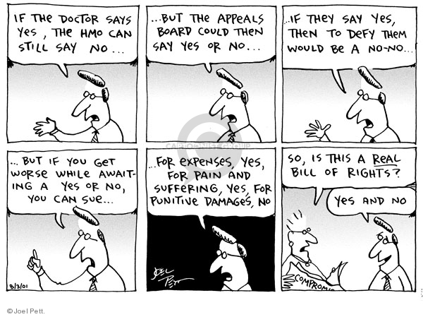 Joel Pett  Joel Pett's Editorial Cartoons 2001-08-03 Sue