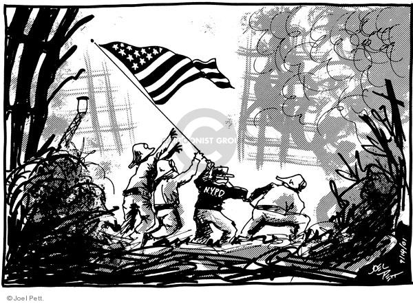 Cartoonist Joel Pett  Joel Pett's Editorial Cartoons 2001-09-14 2001