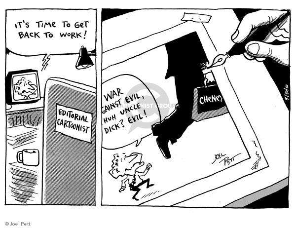 Joel Pett  Joel Pett's Editorial Cartoons 2001-09-20 cartoonist