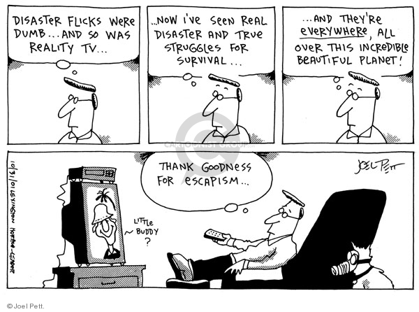 Cartoonist Joel Pett  Joel Pett's Editorial Cartoons 2001-10-31 terror attack