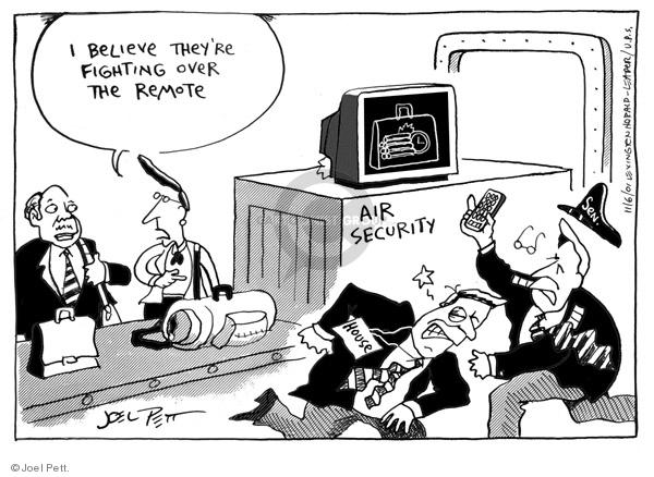 Cartoonist Joel Pett  Joel Pett's Editorial Cartoons 2001-11-06 state