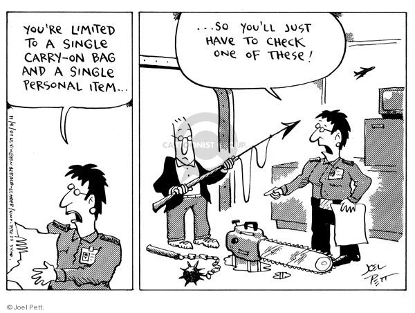 Joel Pett  Joel Pett's Editorial Cartoons 2001-11-09 terrorism
