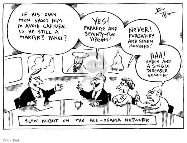Joel Pett  Joel Pett's Editorial Cartoons 2001-12-21 censorship