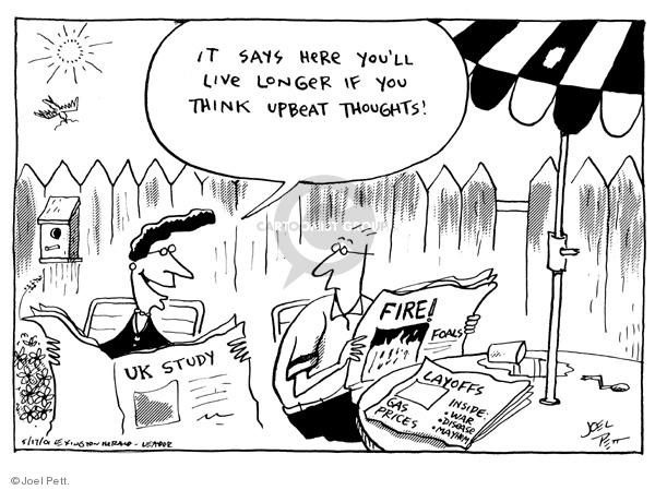 Joel Pett  Joel Pett's Editorial Cartoons 2001-05-17 disease