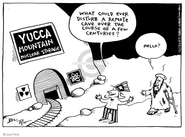 Cartoonist Joel Pett  Joel Pett's Editorial Cartoons 2002-01-25 nuclear power