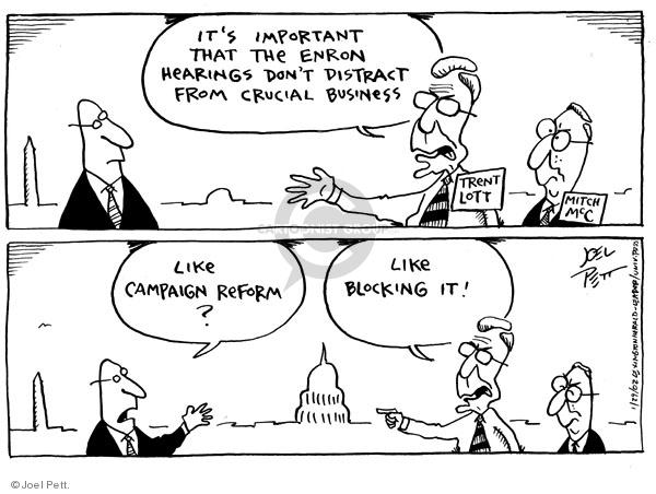 Joel Pett  Joel Pett's Editorial Cartoons 2002-01-29 Mississippi