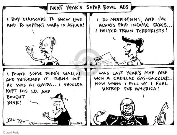 Joel Pett  Joel Pett's Editorial Cartoons 2002-02-06 political media