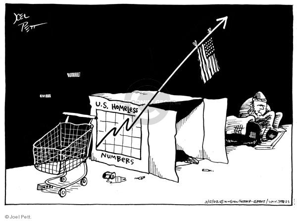 Cartoonist Joel Pett  Joel Pett's Editorial Cartoons 2002-03-12 state